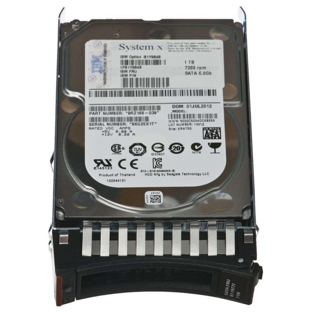 Жесткий диск для сервера 1TB IBM (81Y9848)