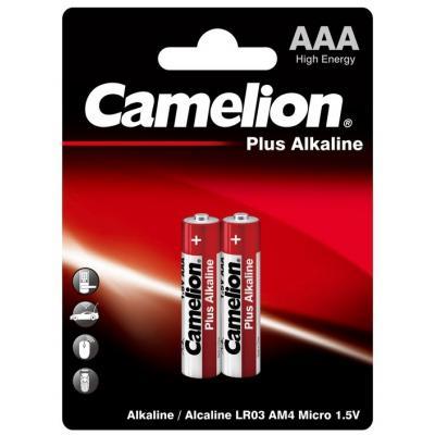 Батарейка Camelion AAA LR03/2BL Plus Alkaline (LR03-BP2)