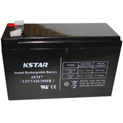 Батарея к ИБП KSTAR 12В 7 Ач (6-FM-7)