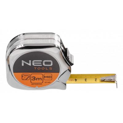 Рулетка NEO стальная лента 3 м x 16 мм (67-143)