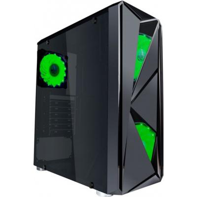 Корпус 1stPlayer F4-A1 Green LED