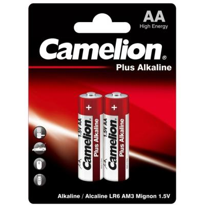 Батарейка Camelion AA LR6/2BL Plus Alkaline (LR6-BP2)