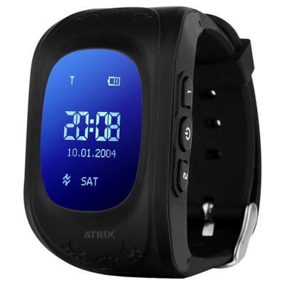Смарт-часы ATRIX Smartwatch iQ300 GPS Black