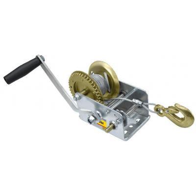 Лебедка Topex канатная с храповым тормозом 0.55 т, канат 10 м (97X085)