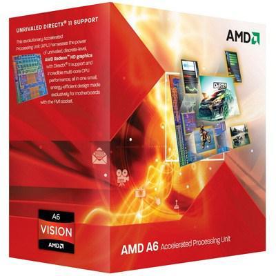 Процессор AMD A4-3400 (AD3400OJGXBOX / AD3400OJHXBOX)
