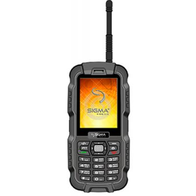 Мобильный телефон Sigma X-treme DZ67 Travel Black Black (6907798466428)