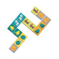Набор для творчества Djeco детское домино Цветные животные (DJ08111)