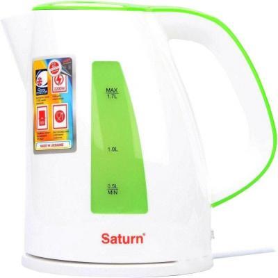 Электрочайник SATURN ST-EK8436 Lt. Green/White