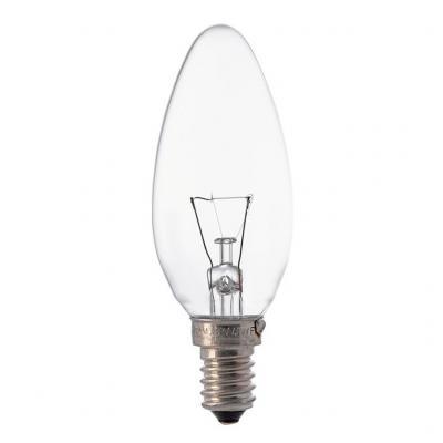Лампочка розжарювання E14 40W 230V B35 CL CLAS OSRAM (4008321788641)