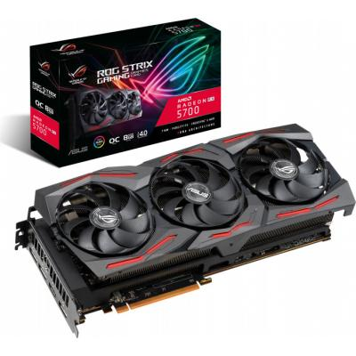 Видеокарта ASUS Radeon RX 5700 8192Mb ROG STRIX GAMING OC (ROG-STRIX-RX5700-O8G-GAMING)