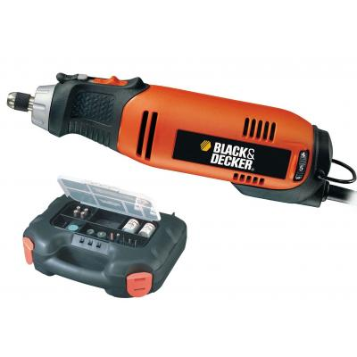 Гравер BLACK&DECKER RT650KA-QS, кейс (RT650KA)