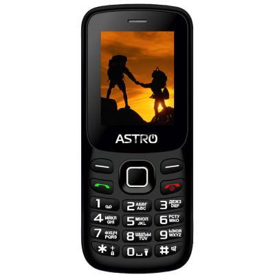 Мобильный телефон Astro A173 Black-Red