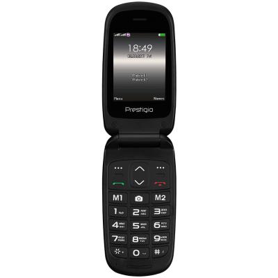 Мобильный телефон PRESTIGIO 1242 Duo Grace B1 Black (PFP1242DUOBLACK)
