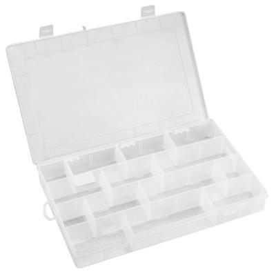 Ящик для инструментов Topex органайзер 35 x 22.8 x 4.9 см, 14 перегородок (79R178)