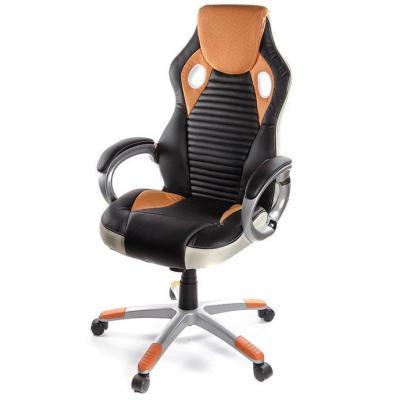 Кресло игровое АКЛАС Григ PL TILT Оранжевое (06157)