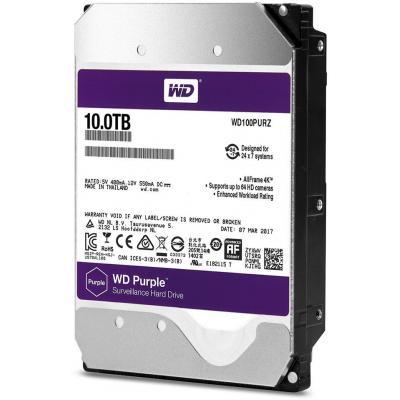 """Жесткий диск 3.5"""" 10TB Western Digital (WD100PURZ)"""