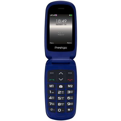 Мобильный телефон PRESTIGIO 1242 Duo Grace B1 Blue (PFP1242DUOBLUE)