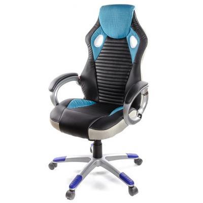 Кресло игровое АКЛАС Григ PL TILT Синее (06158)