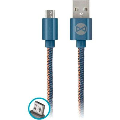 Дата кабель USB 2.0 AM to Micro 5P jeans Forever (T_01627)