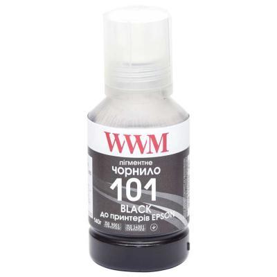 Чернила WWM EPSON L4150/4160 140г Black Pigmented (E101BP)