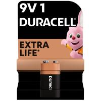 Батарейка Duracell Крона 9V * 1 (5000394066267 / 81483681)