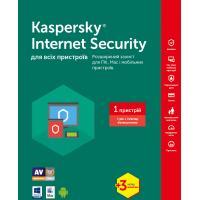 Антивірус Kaspersky Internet Security 2017 Multi-Device 1 ПК 1год+3мес Base Box (KL1941OUABS17)