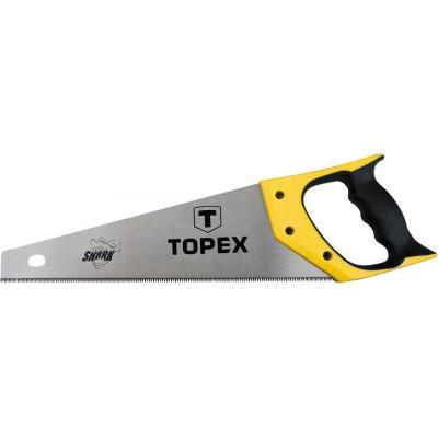 Ножовка Topex по дереву, 500 мм, «Акула», 7TPI (10A450)