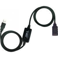 Дата кабель подовжувач активний USB2.0 AM/AF Viewcon (VV 043-20м.)