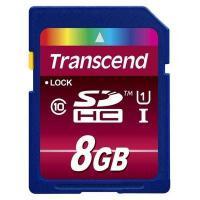 Карта пам'яті Transcend 8Gb SDHC UHS-1 (TS8GSDHC10U1)