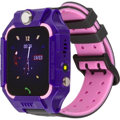 Смарт-часы ATRIX D300 Thermometer Flash purple Детские телефон-часы с термоме (atxD300thprpl)