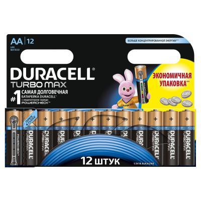 Батарейка Duracell AA TURBO MAX LR06 MN1500 * 12 (81417106)
