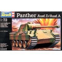 Сборная модель Revell Танк PzKpfw. V Panther Ausf. D/Ausf. A 1:72 (3107)