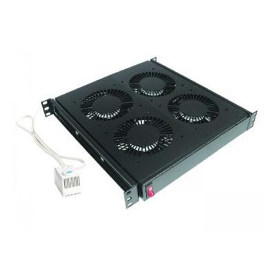 Вентиляторный модуль Conteg 4 вент. c термостатом (DP-VEN-04-H)