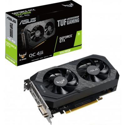 Видеокарта ASUS GeForce GTX1650 SUPER 4096Mb TUF GAMING OC (TUF-GTX1650S-O4G-GAMING)