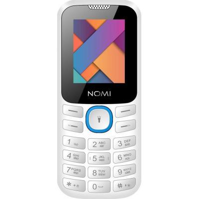 Мобильный телефон Nomi i184 White-Blue