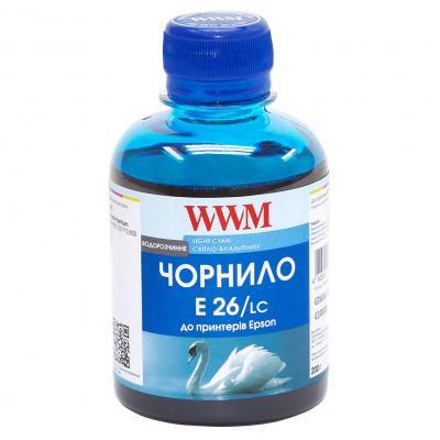 Чернила WWM EPSON XP-600/XP-605/XP-7005 Light Cyan (E26/LC)