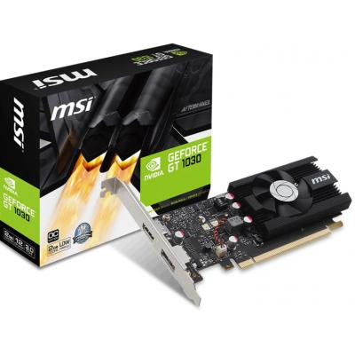 Видеокарта MSI GeForce GT1030 2048Mb OC (GT 1030 2G LP OC)