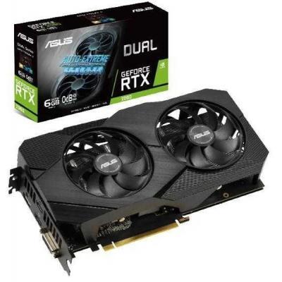 Видеокарта ASUS GeForce RTX2060 6144Mb DUAL EVO (DUAL-RTX2060-6G-EVO)