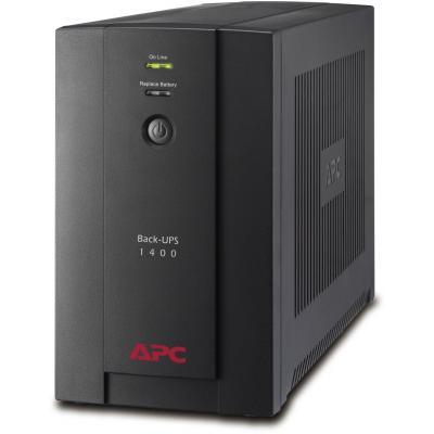 Источник бесперебойного питания APC Back-UPS 1400VA, IEC (BX1400UI)