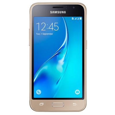 Мобильный телефон Samsung SM-J120H/DS (Galaxy J1 2016 Duos) Gold (SM-J120HZDDSEK)