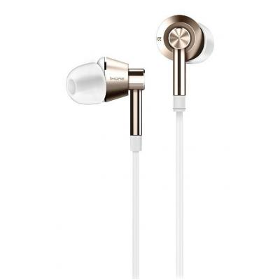 Наушники 1MORE Dual Driver In-Ear Headphones White/Gold (6933037210026)