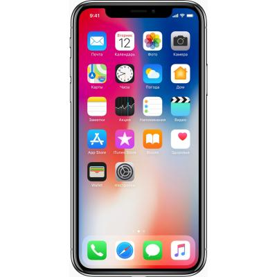 Мобильный телефон Apple iPhone X 64Gb Space Gray (MQAC2FS/A/MQAC2RM/A)