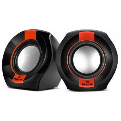 Акустическая система REAL-EL S-50 black-red