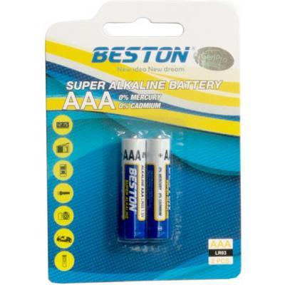 Батарейка BESTON AAA 1.5V Alkaline * 2 (AAB1832)
