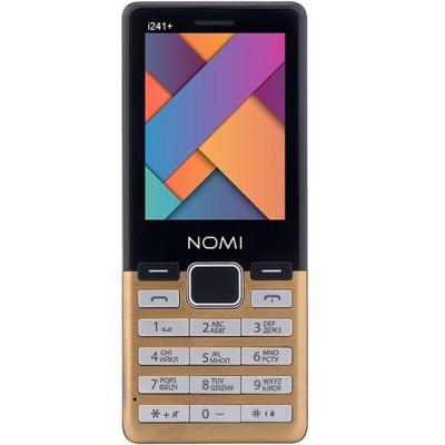 Мобильный телефон Nomi i241 + Gold