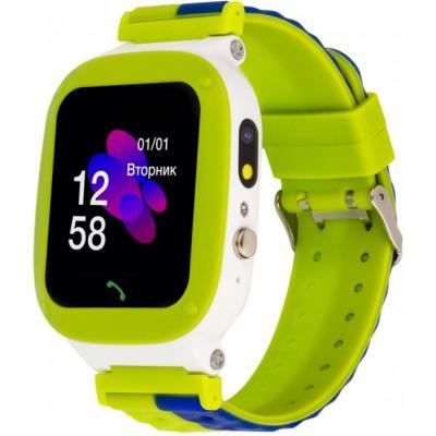 Смарт-часы ATRIX iQ2200 IPS Cam Flash Green Детские телефон-часы с трекером (iQ2200 Green)