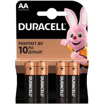 Батарейка AA MN1500 LR6 * 4 Duracell (81404815/81267331)