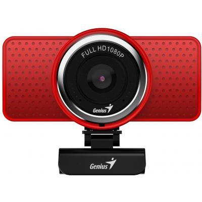 Веб-камера Genius ECam 8000 Full HD Red (32200001401)