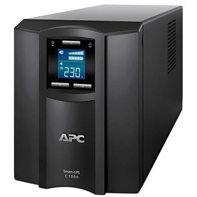 Источник бесперебойного питания APC Smart-UPS C 1000VA LCD 230V (SMC1000I)