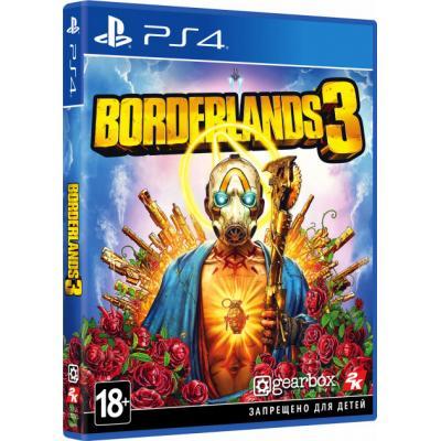 Игра SONY Borderlands 3 [PS4, Russian subtitles] (5026555425896)
